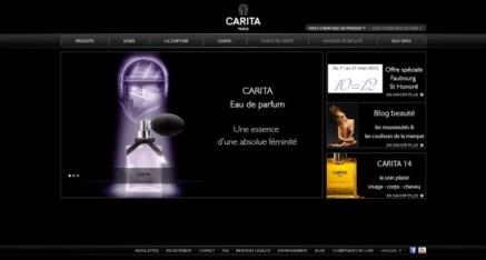 Gestion des projets Carita pour Agence Gaboweb